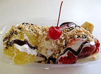 Colorado Custard Company Banana Split
