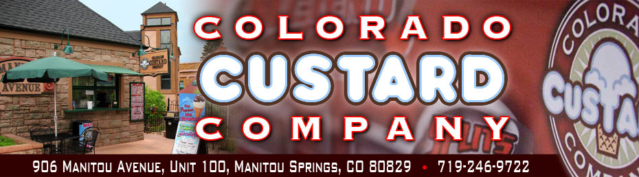 Colorado Custard Company banner