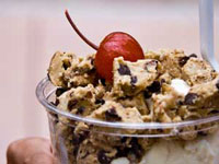 Colorado Custard Company cookie dough Sundae
